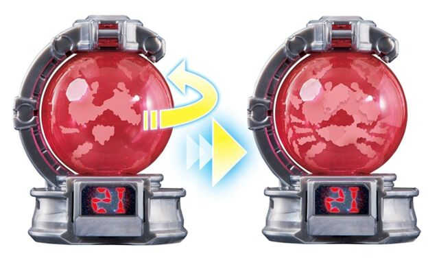 /'17 Bandai Japan Sentai Kyuranger Kyutama DX 09 Kajiki Morpher Power Rangers