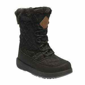 Regatta-Medley-Kids-Boys-Girls-Quilted-Ski-Snow-Boot-Black-RRP-70