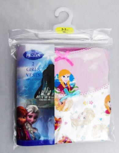 Disney Frozen Girls Vests BNIP Primark