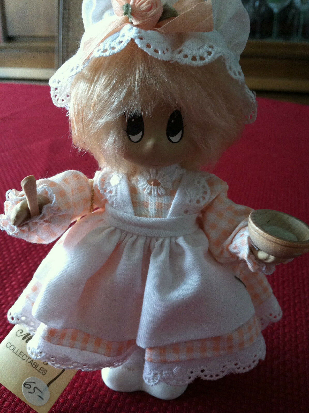 NWT Mimsy Collectable Girl Miss Muffet Porcelain Doll Limited Edition
