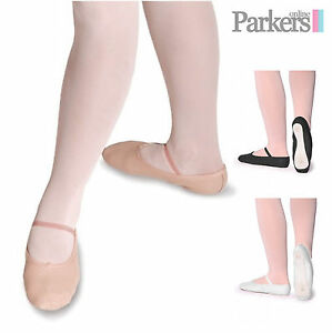 90193e538 ROCH VALLEY NEW GIRLS LADIES CHILDRENS LEATHER BALLET SHOES DANCE ...