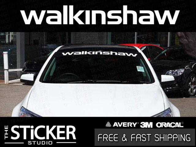 Walkinshaw Performance Windshield Sticker Vinyl Suit Holden VL Ve VF HSV Ls2