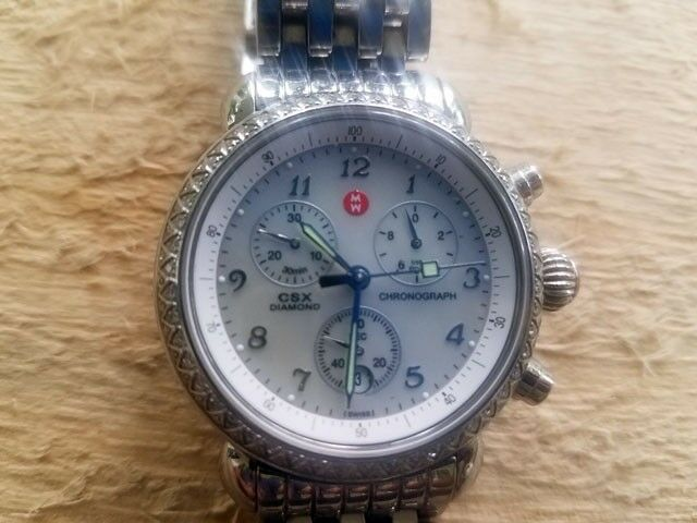d91b811b4b070 MICHELE CSX 36 Diamond Ladies Watch MW 03 C 01 for sale online