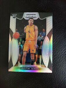 2019-20 Prizm Draft Picks Silver Refractor Prizm Justin James RC #39