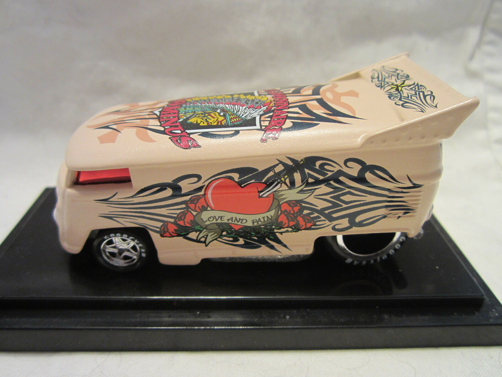 Hot Wheels Liberty Promotions Tattoo Prominus VOLKSWAGEN DRAG BUS   500