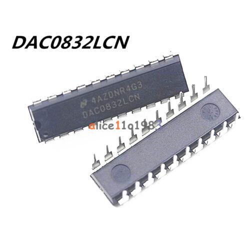 DAC0832LCN DAC0832 0832 DIP-20 8-BIT D//A CONVERTER IC NEW