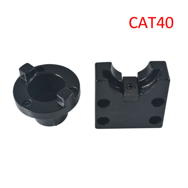 CAT40 CNC Tool Holder Square Round Tightening Fixture Selects-2Pcs