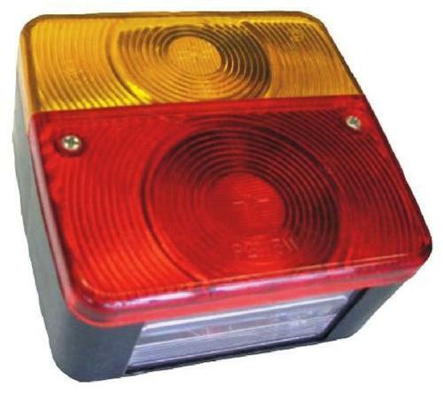 2 Stück Rückleuchte inkl Leuchtm Heckleuchte Anhänger PKW Rücklicht 12V E11