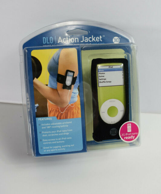 DLO ActionJacket Armband Case for iPod touch 2G Black 3G MP3 & MP4 ...