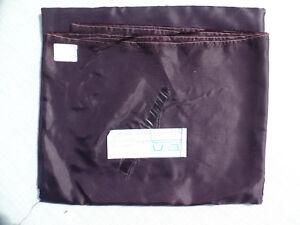 1-4-x-2-m-Futterstoff-Taft-Pflaume-dunkelviolett-changierend-Acetat-73-g-m