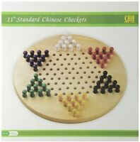 Chinese Checkers, Play Classic Game Wood Board Games Family Fun Home Pieces on sale