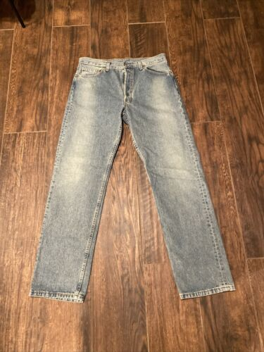 Levi 501 Vintage 34x33 Made In USA Distressed 1990
