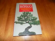 INTRODUCING BONSAI Tree Trees Growing Planting Training Care Guide Plant Book