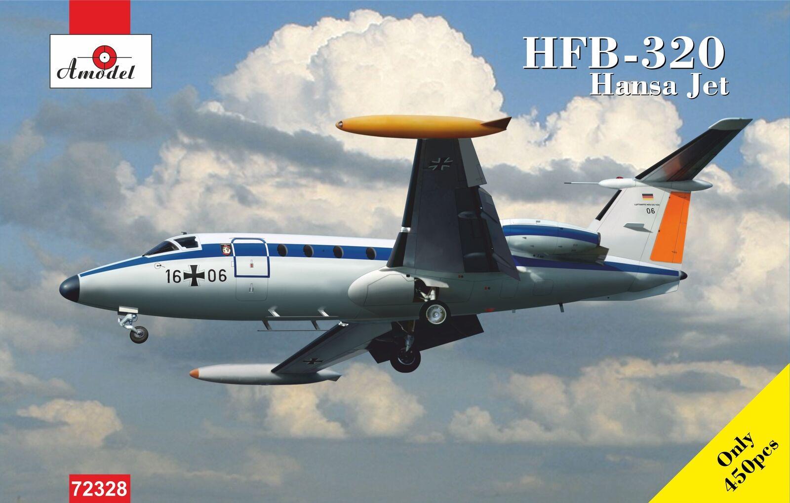 i nuovi stili più caldi Amodellolo 1 72 Hfb-320 Hansa Jet 'Lufthansa' 'Lufthansa' 'Lufthansa'  72328  autorizzazione ufficiale