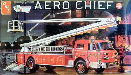 American LaFrance Aero Chief Fire Truck Feuerwehr 1:25 AMT Model Kit AMT980