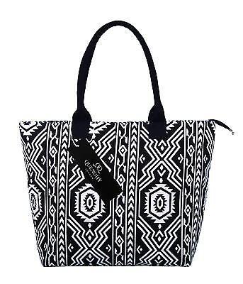 Leinen Tote Einkaufstasche Strandtaschen Holiday Schultertasche Einkauf ql31m