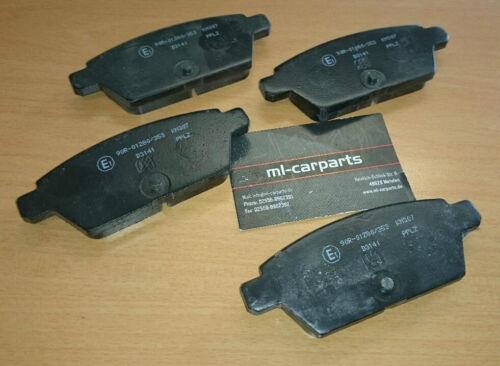 Satz Bremsklötze Bremsbeläge hinten Mazda 6 2,3 MPS 191KW 2005-2007