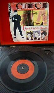Culture-Club-Church-Of-The-Poison-Mind-Vinyl-7-034-P-S-Single-UK-VS-571-1983