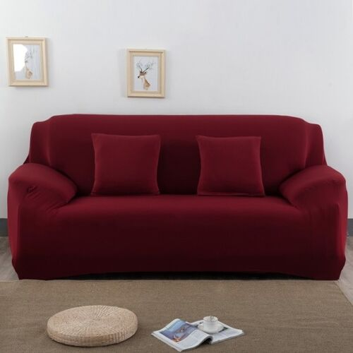 Sofa Covers 1//2//3//4 Seater Spandex Stretch Couch Cover Furniture Protectors US