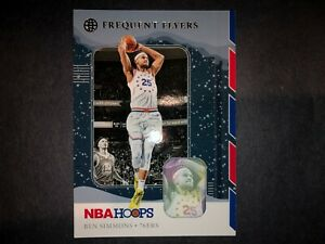 2019-20-PANINI-NBA-HOOPS-BASKETBALL-WINTER-FREQUENT-FLYERS-BEN-SIMMONS-10-76ERS