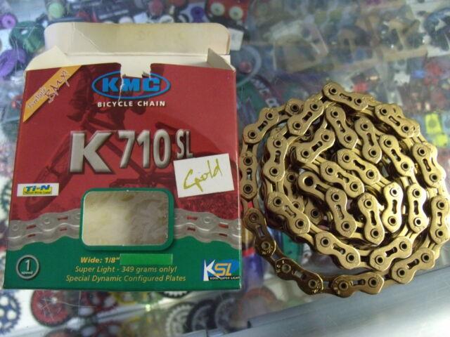 KMC K710SL SuperLite Kool Chain 1//8 Single Speed Silver