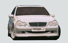 Rieger Frontspoilerlippe für Mercedes Benz C-Klasse W203 Classic/ Elegance