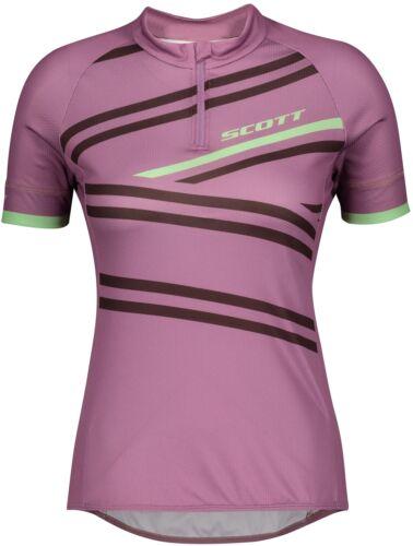 Pink Scott Endurance 30 Short Sleeve Womens Cycling Jersey