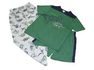 9c48ab558 Carter s Size 10 Boy s Dinosaur T-Rex and Stegosaurus 3-Piece Pajama ...