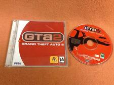 Grand Theft Auto 2 GTA Sega Dreamcast Game FREE SHIP Complete!