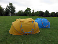 Popup-zelt Wurfzelt Campingzelt Trekkingzelt Strand Outdoor Camping 2 Personen