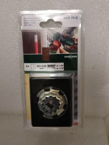 Bosch 2608662346 Multi Outil Starlock 70 mm Profil Plaque abrasive
