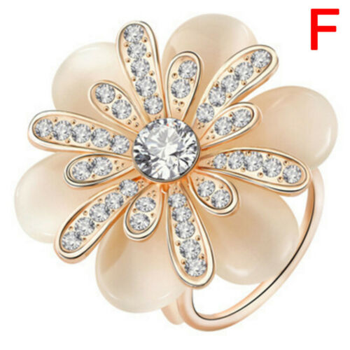 Drops Pearl Camellia Scarf Clip Brooch Pin Hollow Out Shawl Buckle ME