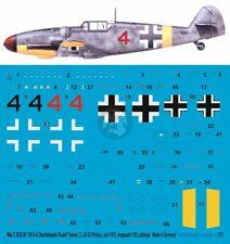 Peddinghaus 1//72 Bf 109 G-6 Markings Erich Hartmann 4.//JG 52 Hungary 1944 825