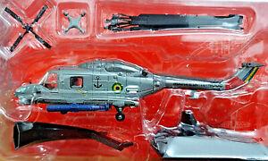 Agusta-Westland-AH-11A-Super-Lynx-Brasile-Scala-1-72-Die-Cast-Elicotteri-Combat