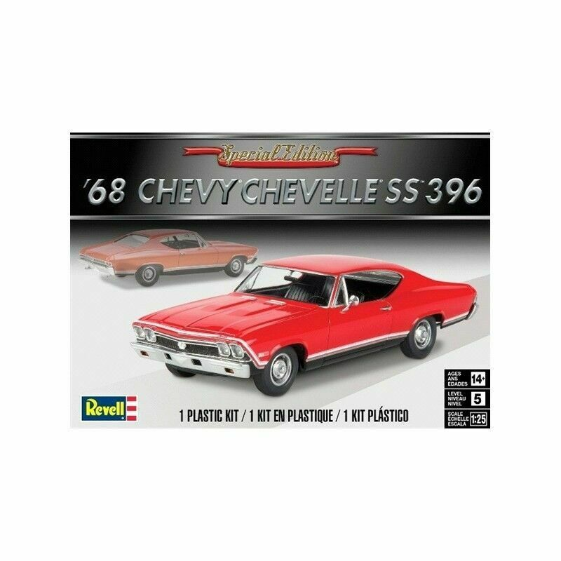 Revell'68 Chevy Chevelle S 396 Kit di Costruzione modellllerlerlo 1 25 konst.85 -4445