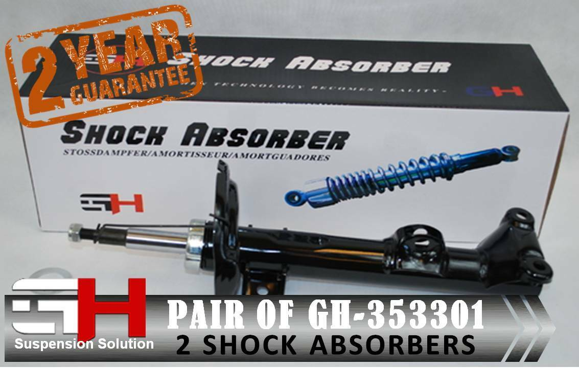 2 NEW FRONT SHOCK ABSORBERS FOR MITSUBISHI LANCER VIII 03.2007-/>//GH-353083P//