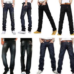 New Men's Fashion Designer jeans Casual Denim Mens Jean Pant ...
