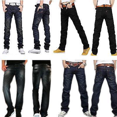 New Men's Fashion Designer jeans Casual Denim Mens Jean Pant Trousers Collection