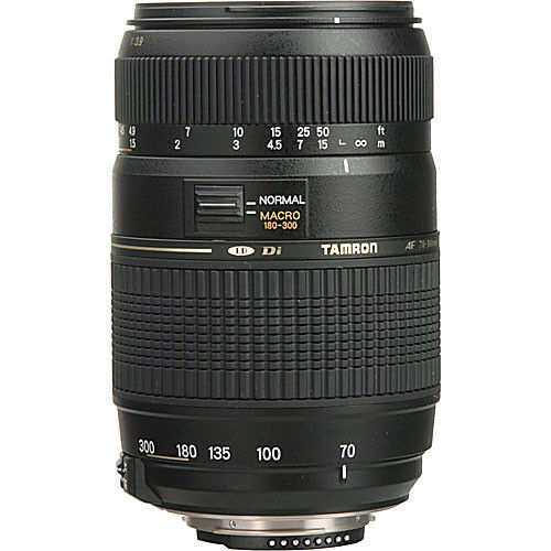 Tamron Zoom Telephoto AF 70-300mm f//4-5.6 Di LD Macro Autofocus Lens For Canon