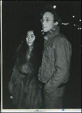 John LENON and Yoko ONO: Original 1976 Photograph