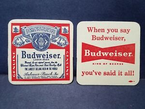 BUDWEISER Red is the New Green Beer Coasters NEW 125 Count BUD