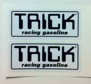 Details about Trick Racing Gas Reproduction Decal smal ATC Tecate Tri-Z TRX  250 250R 350x 200X