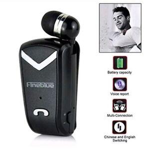 Wireless 0 cuffie Auricolari 4 Bluetooth Cuffia F Fineblue RETRATTILE V2 fE4qtPwWB