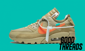 Details about Off White x Nike The Ten: Air Max 90 Desert Ore