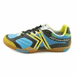 Kelme Star 360 Michelin Mens Leather Indoor Soccer Shoes Turquoise ... 63273745c