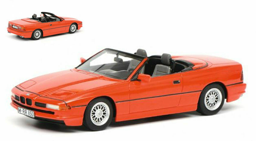 Bmw 850i cabrio rosso 1 18 Model 0068 Roadster