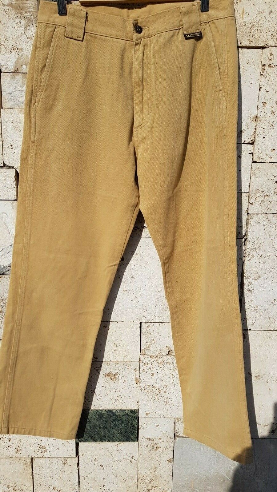 PANTALONE men BEIGE ORIGINALE 52 BELSTAFF men CAMMELLO COMODO LARGO