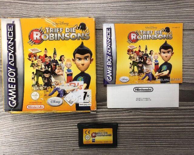*** Triff die Robinsons *** GBA GameBoy Advance, SP+DS Lite *** Komplett mit OVP