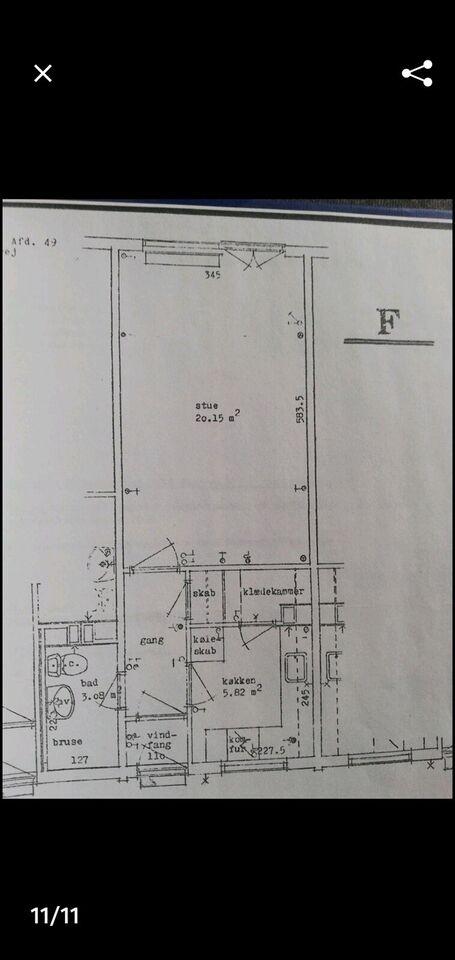 2400 1 vær. lejlighed, 45 m2, Stærevej 36