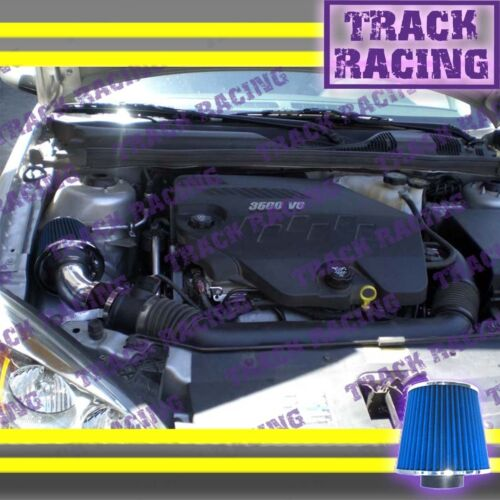 04 05 06 07-11 CHEVY MALIBU PONTIAC G6 3.5L//3.6L//3.9L V6 AIR INTAKE Black Blue S